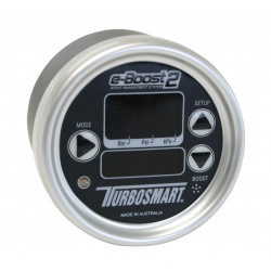 e-Boost2 60PSI 66mm Black face/Silver bezel