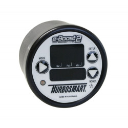 e-Boost2 60PSI 60mm White face/Black bezel