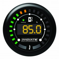 Innovate MTX Digital gauge, Ethanol % and fuel temperature