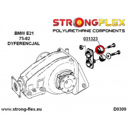 031323A: Rear diff mounting bush SPORT