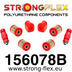 156078B: Front kit suspension polyurethane bushes