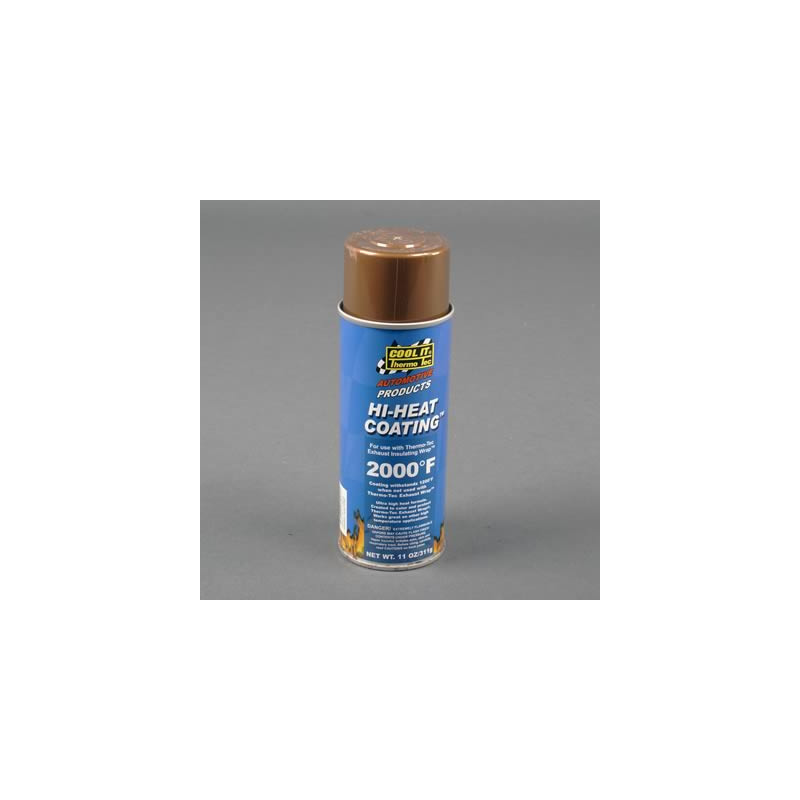 Thermal paint Thermo-Tec Hi Heat Coating, copper