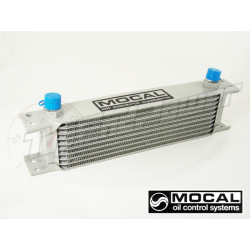 Mocal oil cooler 10-row (235mm) outlets -8JIC