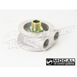 Mocal Oil sandwich plate 3/4 UFN without thermostat 1/2 BSP fittings