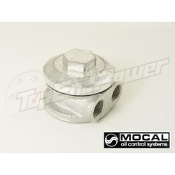 Mocal take-off plate 3/4 UNF 1/2 BSP fittings (side ports)