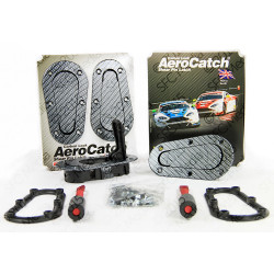 AeroCatch Flush Plus Carbon (mounting pads included)