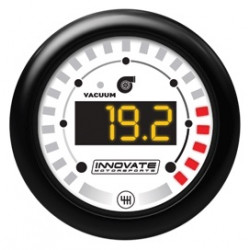 MTX Digital gauge, Innovate Vacuum/Boost & Shift Light (DUAL)