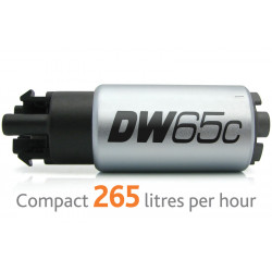 Fuel pump DW65c DeatschWerks (265lph), Ford Focus ST225 05+/ RS 2.5T 5-Cyl 09-13 Install kit 9-1017
