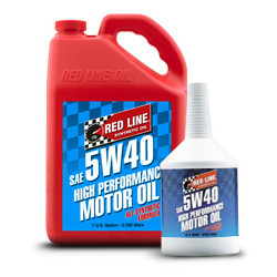 Synthetic engine oil Red Line 5W40 0.94l
