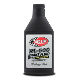 Brake fluid Red Line RL-600 DOT-4 473ml