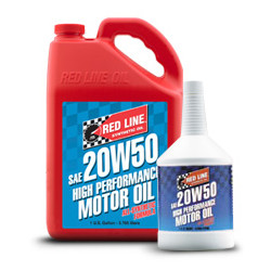 Synthetic engine oil Red Line 20W50 0.94l