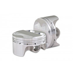 Piston kit CP Pistons 4 cyl, Mitsubishi EVO IV-IX  Bore 3.386 (86.0mm) Size +1.0mm Compression Ratio 9,0